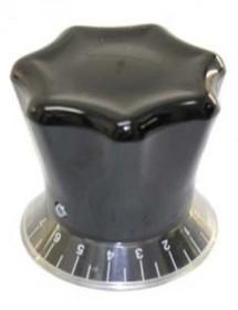 Control knob without bolt Slicer Boston 2V30012 White or Black Roulette