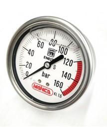 Manometer 160 Bar Mainca Ø62mm Glycerin Nuoya Fima EN837-1