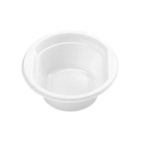 Round bowl White bowl (pack of 25 units)
