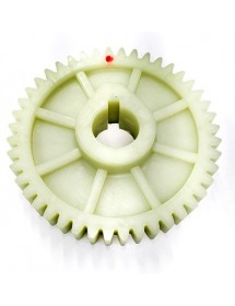 "Large Plastic Gear ""A"" orange juicer 52 teeth"