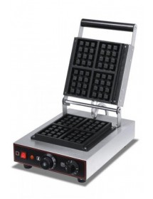 Square plate waffle maker IRIMAR