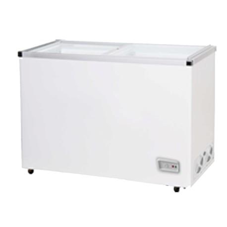 Congelador con puertas correderas de cristal fcg 400 - Congelador de arcon ...