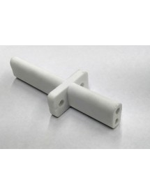 Double porcelain support - 84mm long with interior lateral support 3.5mm Salamander ES