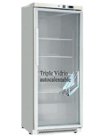 Freezing cabinet BD-400G with transparent door