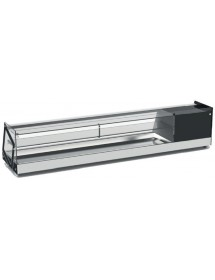 Refrigerated display case for tapas / sushi RTS-84L