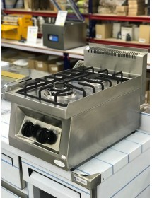 Gas stove 2 burners OZTI (EW WITHOUT PACKAGING)