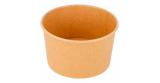 Ice cream cartons brown cardboard (50 ud)