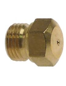 boquilla de gas rosca M10x1 EC 11 taladro ø 1,5mm 104356