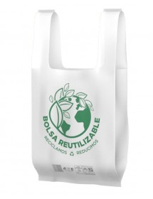 Reusable bags with handle (100 pcs)