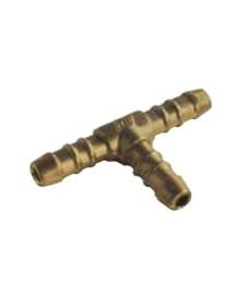 Derivación Y latón Ø10 para tubo flexible 14500 Gas Butano Propano