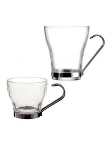 Cup of coffee with St Steel handles SUPREME (3 units)