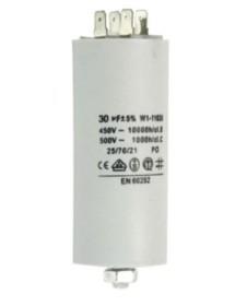Condensador de servicio capacidad 6,3 µF 450 V tolerancia 5 % 50 Hz 365093 365012