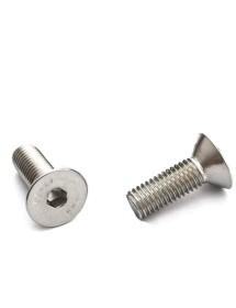 tornillo de cabeza avellanada rosca M5 L 12mm EC 3 inox DIN 7991/ISO 10642 UE 1 pz Inox
