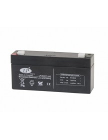 Lead-acid Battery LP6-3 6 V - 3.2 Amp 134 x 34 x 66 mm CAS DB-II