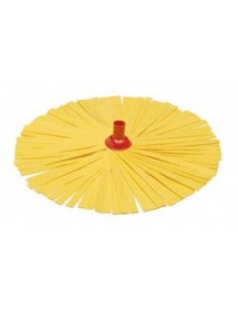 Washing floor mop in yellow