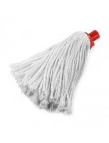 White cotton wet mop