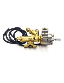 Grifo de gas Cocina GBR PSR PAT.3237.X con encendido piezoeléctrico