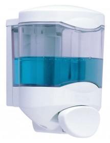 Soap dispenser 450ml ABS white