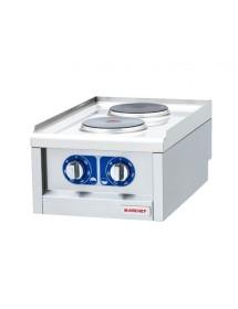 Cocina eléctrica de sobremesa 2 placas OSOE4060