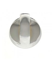 Pomo grifo de gas con llama piloto ø 75mm eje ø 8x6,5mm OZTI 112659 6260.00015.46 6260.00015.40