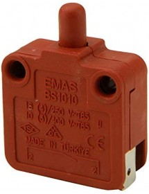 microinterruptor con varilla 250V 16A 1NO empalme conector Faston 6,3mm Ozti 6232.00010.26 345060 núm. de la pieza