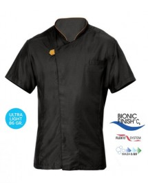 GIORGIO short sleeve cook jacket