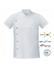 LAPO short sleeve cook jacket