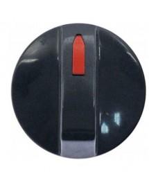 pomo marca cero ø 38mm eje ø 6x5mm parte plana arriba 112809 Ozti 6262.00071.20