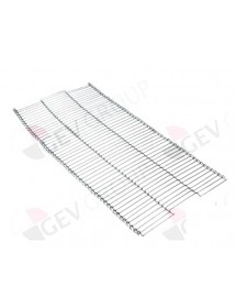 conveyor belt L 570mm W 280mm wire gauge ø 1,2mm for conveyor toaster MET-300