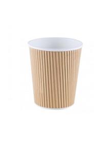 Corrugated cardboard cup (25 pcs)