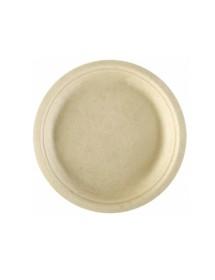 Kraft cardboard plates (Pack 50 pcs)