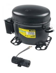 compressor coolant R134a type FR7.5G 220-240V 50/60Hz LBP/HBP 10,6kg 1/5HP 605088 EMT65HLR