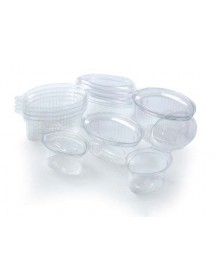 Saucer tub with lid hinge (100 pcs)