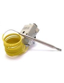 thermostat t.max. 90°C temperature range 30-90°C 1-pole 1NO 16A probe ø 6mm probe L 95mm Ozti 6234.00001.42