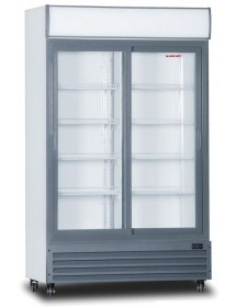 LGD-1100S double refrigerated display cabinet