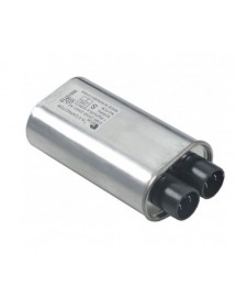 HV capacitor for microwave 0,92µF type CH85-21092 2100V 50/60Hz double connection male faston 4.8mm