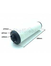 Filter Vacuum packing XD-040 70X250mm