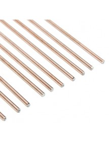 Round 2% welding rod Silver Package 10 rods 125gr 500x2mm