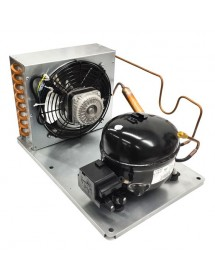 Condensing unit 1/5HP with RT dehydrator EMT55HLR R134a 220V 50Hz