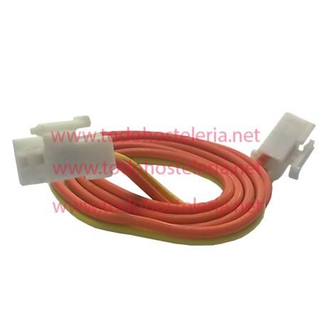 Cable manguera de 2 hilos con conectores Largo 90 cm
