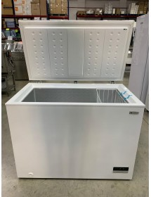 Freezer chest HS-384 flip top (SMALL DESPERFECTS)