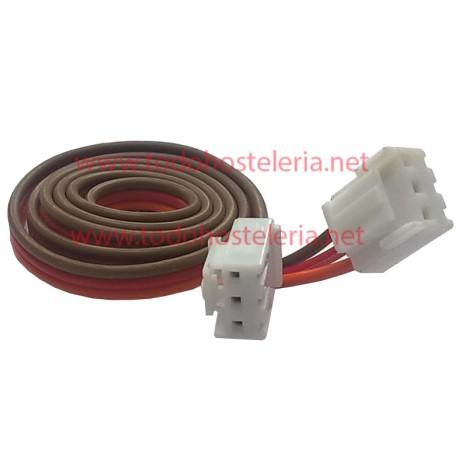 Cable manguera de 3 hilos con conectores Largo 90 cm