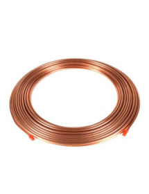 "Copper tube roll 15 meters 3/8 ""9.52mmx0.8mm"