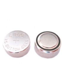 Alkaline button battery LR44 / A76 / 303/357 / AG13 / SR44, 1,5V. 125 mAh, 11.6 x 5.4mm Unit