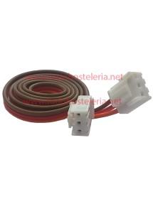 Cable manguera de 3 hilos con conectores Largo 60 cm