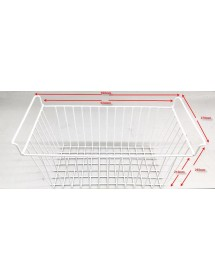 Double Chest Freezer Basket Smad SXF-562JA 502L measures according to photo