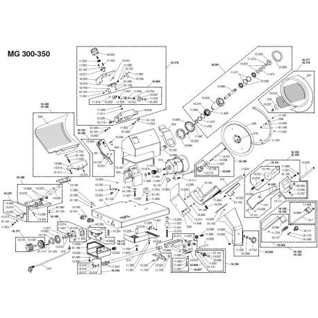 Fit for Motor Slicer Braher MAT 10668