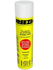 Refrigerant gas Freeze + 12a 420 gr 750ml container 100% organic.