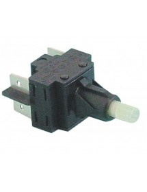 Monetary switch unit 2NO 250V 16A connection male faston 6,3mm