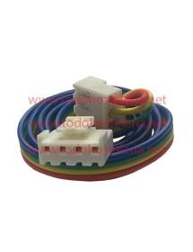 Cable manguera de 4 hilos con conectores Largo 90 cm
